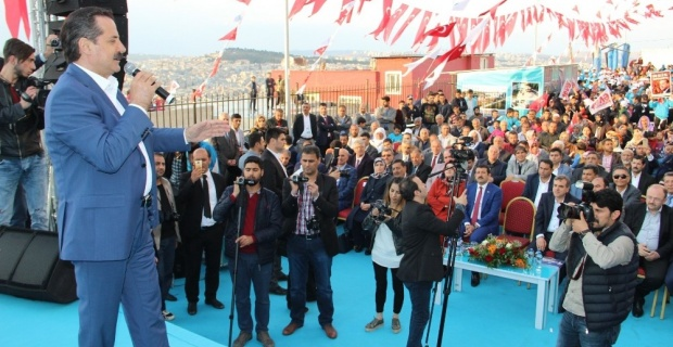 Bakan Çelik 15 Temmuz Gençlik Merkezinin Açılışını Yaptı