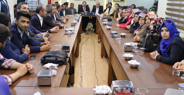 Demirkol,AK Parti Haliliye teşkilatlarına çalışmalarından dolayı teşekkür etti