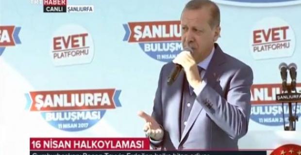 Erdoğan, Suriye'deki Operasyonların Devam Edeceğini Açıkladı