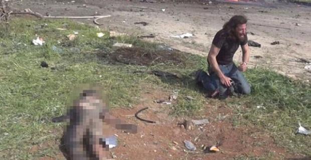 Halep'teki Patlamadan Korkunç Görüntü: Foto Muhabirleri Kameraları Bırakıp Ağladı