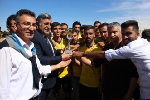 Harran Üniversitesinde 25.Yıl Futbol Turnuvası Sona Erdi