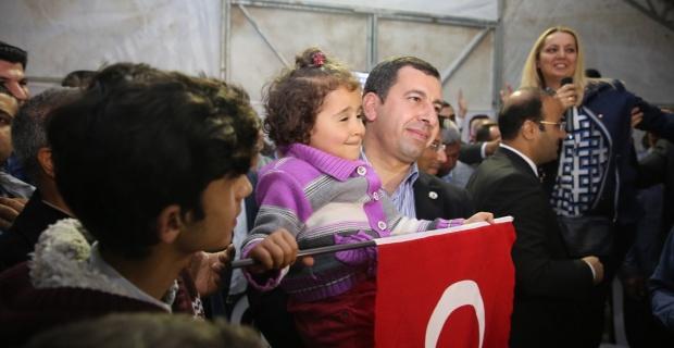Karaköprü'de Referandum Kutlaması