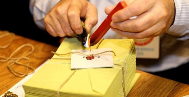 Türk Seçmenlerin Oy Kullanma İşlemi Sona Erdi