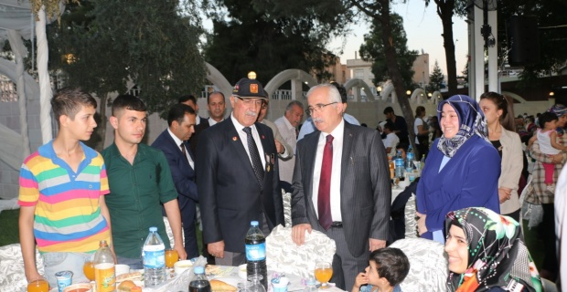 ASPİM, Şehit Aileleri ve Gaziler Onuruna iftar verdi