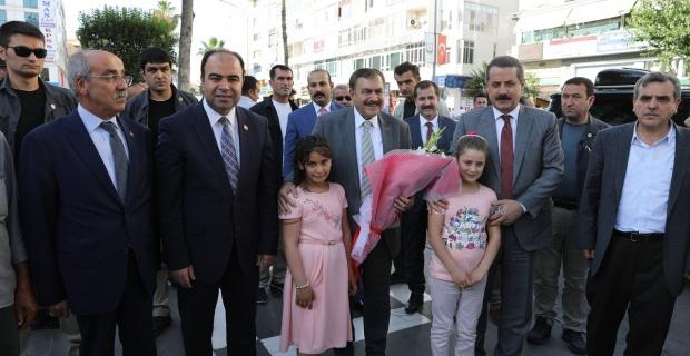 """Bakan Eroğlu: """"Büyükşehir Belediyemiz çok iyi çalışıyor"""""""