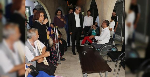 """Demirkol, """"Haliliye Belediyesi olarak engellilerimizin yanındayız"""""""
