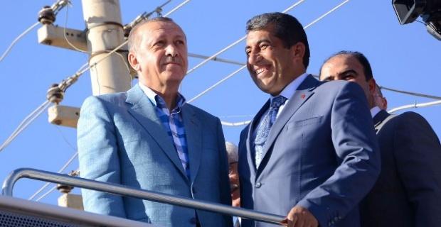 Erdoğan'dan Başkan Atilla'ya övgü