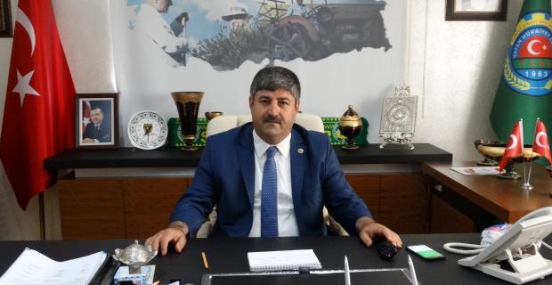 """Eyyüpoğlu,""""huzur ve bereketli bir yıl diliyorum"""""""