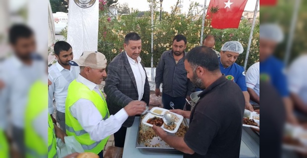 Harran'da her gün 700 kişiye iftar