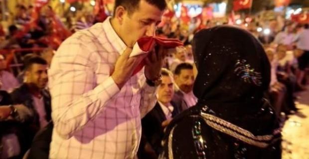Ekinci,''Millet eğilmedi, Türkiye yenilmedi''.