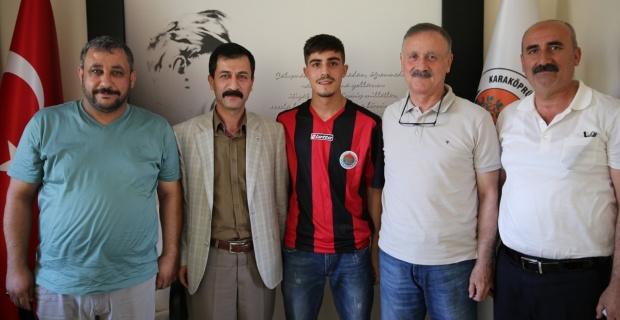 Genç yetenek Fırat Man Karaköprü Belediyespor'da