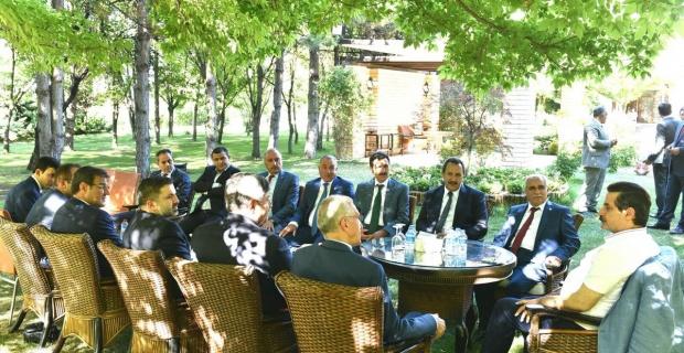 Kaya, Gıda Tarım ve Haycancılık Bakanı Faruk Çelik'i ziyaret etti.