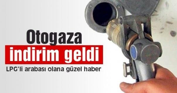 Oto Gaz'a 8 Kuruş İndirim