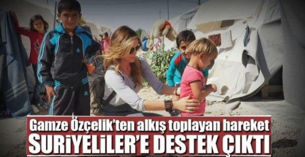 Özçelik,Suriyeliler'e Sahip Çıktı.