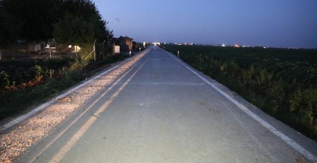 Sıkıştırılmış beton yol uygulaması başladı.