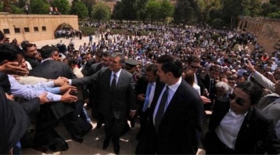 11. Cumhurbaşkanı Abdullah Gül Şanlıurfa'ya Geliyor.