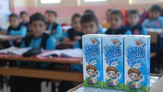 60 bin ton okul sütü dağıtılacak