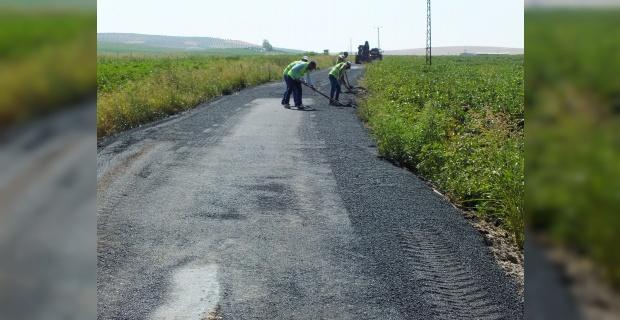 7 kilometrelik yol asfaltlandı.