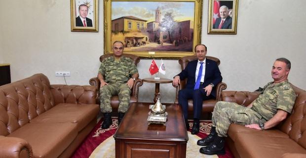 7. Kolordu Komutanı Tümgeneral Sinan Yayla Şanlıurfa'da