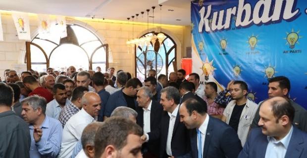 AK Parti Bayramlaşma Proğramı Yoğun Geçti.