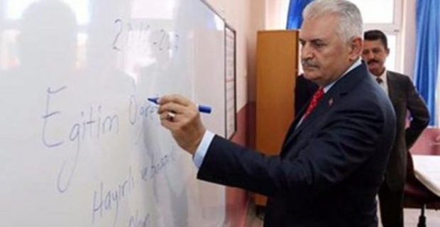 Başbakan Yıldırım, ilk ders zilini Şanlıurfa'da çalacak
