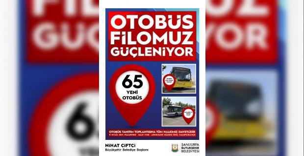 Büyükşehir 65 Yeni Otobüs'ü Tanıtıyor.