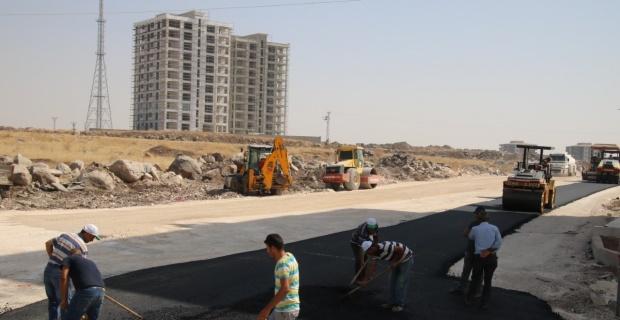 Büyükşehir,bulvarları sıcak asfaltla buluşturuyor