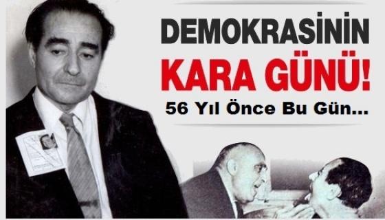 """Demirkol,""""27 Mayıs senelerce 'Hürriyet ve Anayasa Bayramı' olarak kutlandı"""""""