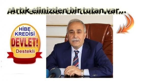 """Fakıbaba,""""Kırsal kalkınma yatırımlarına % 50 hibe desteği uygulamamız devam ediyor"""""""