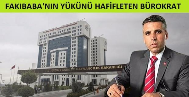 Fakıbaba'nın Yükünü Hafifleten Bürokrat.