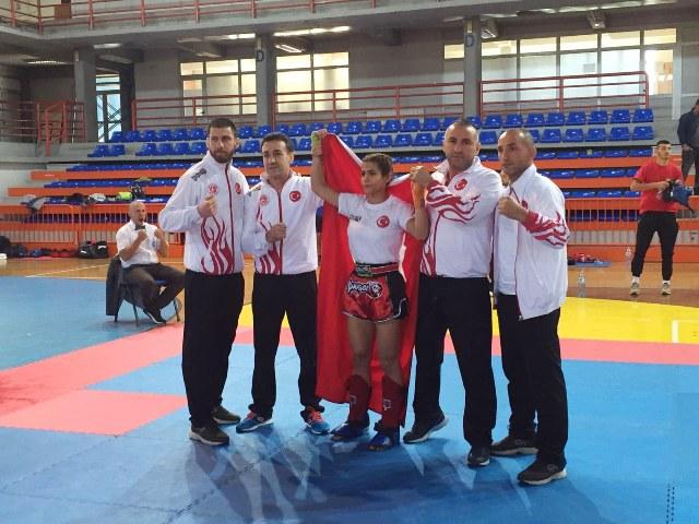 Fatma Hanım Gökçe, 52 kiloda Balkan Şampiyonu