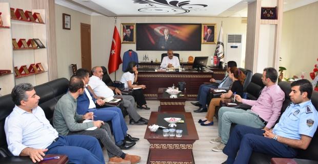 GAP Bölge idaresi başkanlığından Başkan Bayık'a Ziyaret