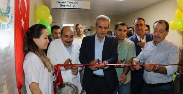 Genel Cerrahi- 2 Servisinin açılışı, düzenlenen törenle gerçekleştirildi.