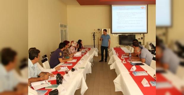 Haliliye'de ISO 9001:2015 İLE ISO 5000 eğitimi.