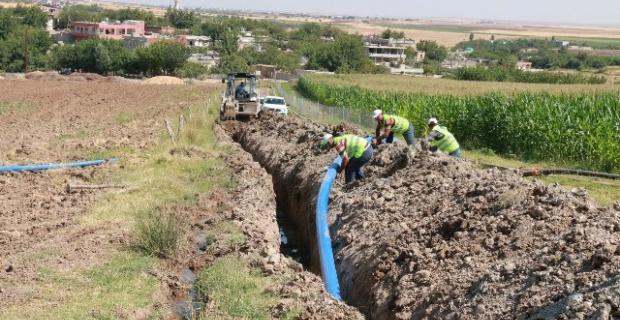 Hilvan kırsal mahalleleri içme suyuna kavuşuyor.