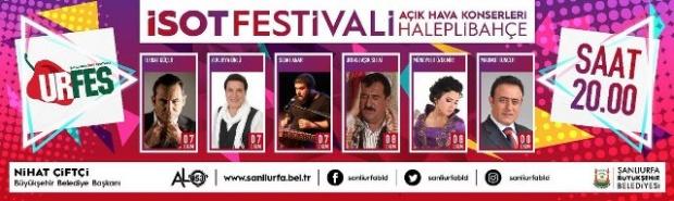 İsot Festivali Konserleri.