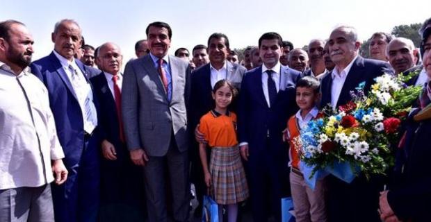 Katar Heyetinden Ceylanpınar TİGEM'e Ziyaret