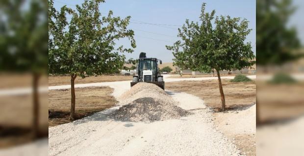 Kırsalda Yol Çalışmaları Devam Ediyor.