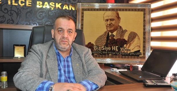 MHP Haliliye İlçe Başkanı Osman KARAAĞAÇ Kurban Bayramı nedeniyle mesaj yayımladı.