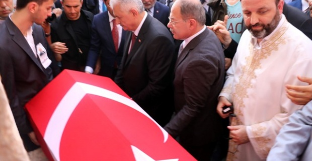 Milletvekili Yüksel, Başbakan Yıldırım'ın katıldığı törenle defnedildi