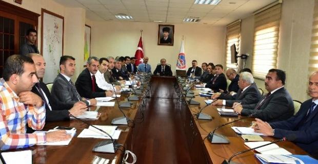 Milli Eğitim Toplantısı Erin Başkanlığında Yapıldı.