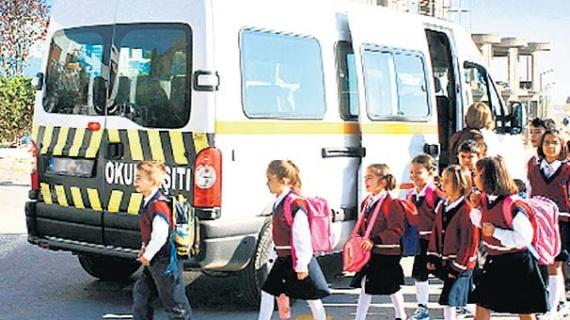 Okul servisleri için üç bakanlık devrede