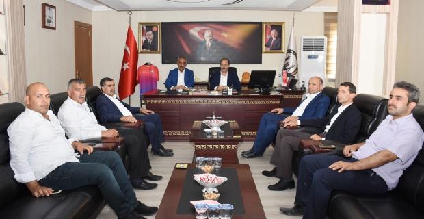 Özcan'dan Hilvan Belediyesi'ne Ziyaret