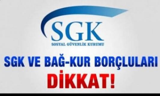SGK borçlularına müjde! O süre uzatıldı...