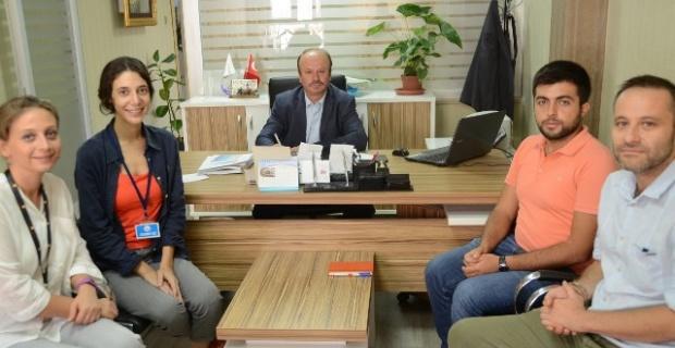 Uluslararası Sivil Toplum Kuruluşları MEB'i ziyaret ettiler