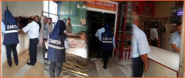 Viranşehir Belediyesi halk sağlığı için denetimlerini aralıksız sürdürüyor.