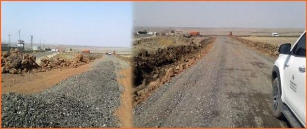 Viranşehir Belediyesi, üst yapı çalışmalarına aralıksız devam ediyor.