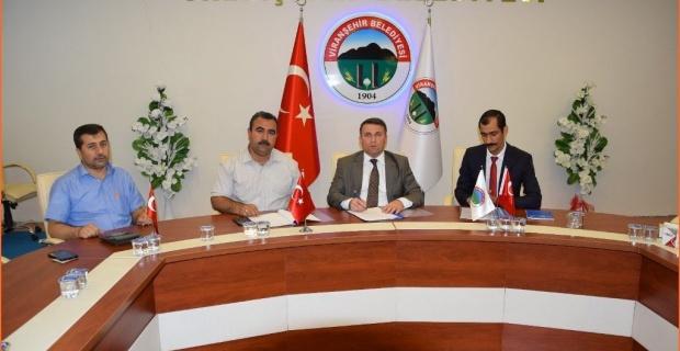 """Viranşehir Belediyesinden """" 7 Dost,7 Kitap """" projesine 60 Bin TL destek"""