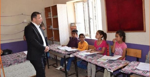 Viranşehir Sorguç İlköğretim Okulunu ziyaret