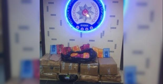 10 bin paket kaçak sigara ele geçirildi